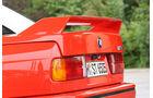 BMW M 3, Heckspoiler