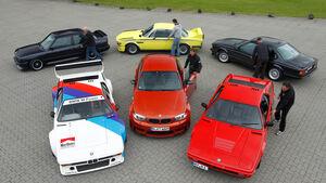 BMW M, alle Fahrzeuge, Gruppenbild