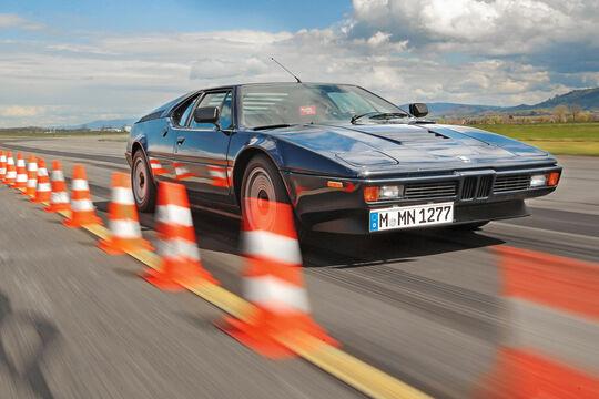BMW M1, Frontansicht