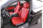 BMW M135i x-Drive, Fahrersitz