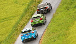 BMW M2 Coupé, Ford Focus RS, Mercedes-AMG A 45 4Matic