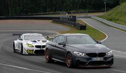 BMW M4 GTS vs BMW M6 GT3