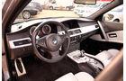 BMW M5 E60, Cockpit