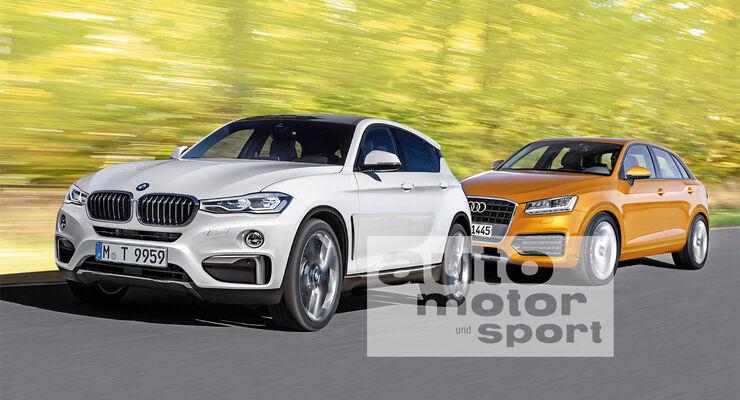 BMW Urban Cross, Audi Q1