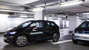 BMW Valet Parking