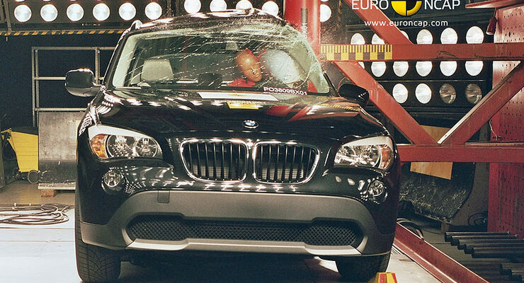 BMW X1 Crashtest