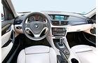 BMW X1 x-Drive 25d, Cockpit, Lenkrad