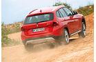 BMW X1 x-Drive 25d, Heckansicht