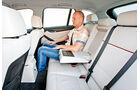 BMW X1 x-Drive 25d, Rückbank, Beinfreiheit