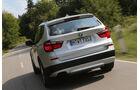 BMW X3 x-Drive 28i, Heckansicht