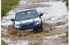 BMW X3 x-Drive 30d, Wasserstraße, Gelände, Front