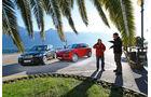 BMW X5 M50d, Porsche Cayenne S Diesel, Frontansicht, Jens Dralle