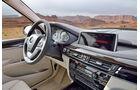 BMW X6, Cockpit