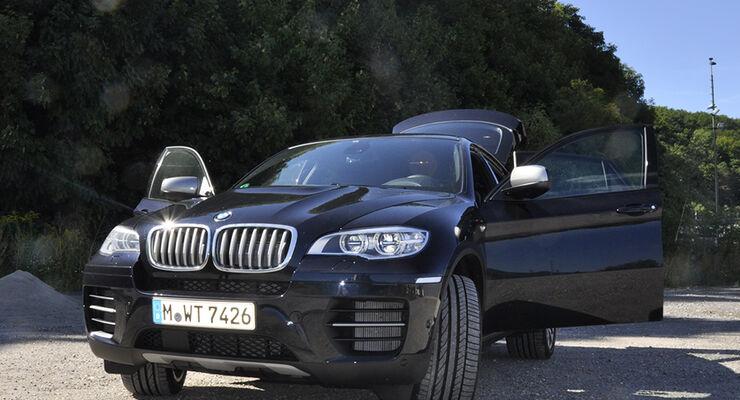 BMW X6 M50d im Innenraum-Check, Front