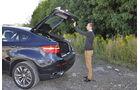 BMW X6 M50d im Innenraum-Check, Kofferraum, Heckklappe