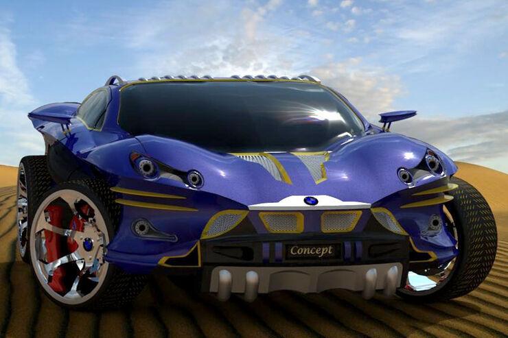 Design Studie Bmw X9 Concept F 228 Hrt Batman Bald X9 Suv