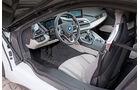 BMW i8, Cockpit, Lenkrad