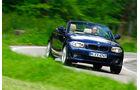 BMW125i Cabriolet, Frontansicht