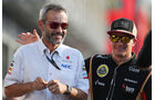 Beat Zehnder (Sauber-Teammanager) & Kimi Räikkönen (Lotus) - Formel 1 - GP Italien - 6. September 2013