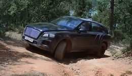Bentley Bentayga Erlkönig