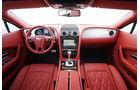 Bentley Continental GT, Cockpit, Lenkrad, Mittelkonsole, Detail