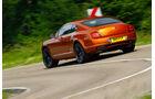 Bentley Continental Supersports, Heck, Heckansicht, Kurvenfahrt