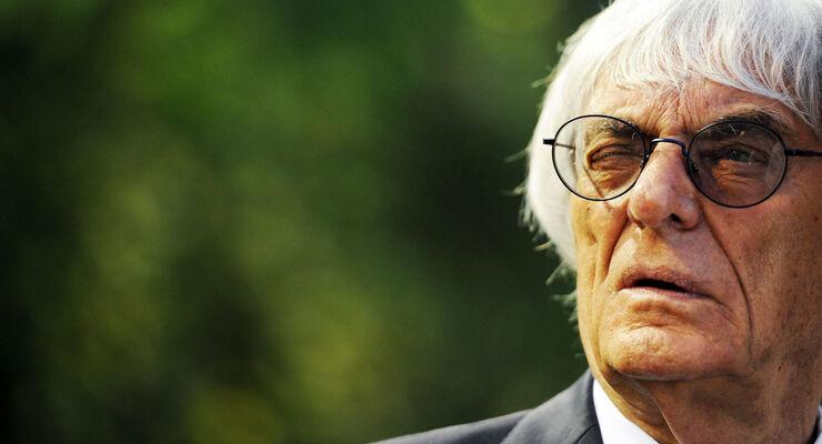 Bernie Ecclestone - Formel 1 - GP Singapur - 18. September 2014