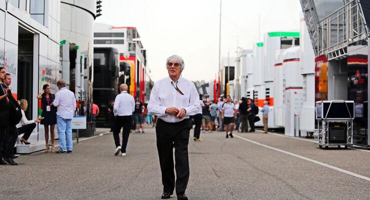 Bernie Ecclestone - GP Deutschland 2014