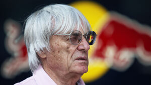 Bernie Ecclestone GP Indien 2011