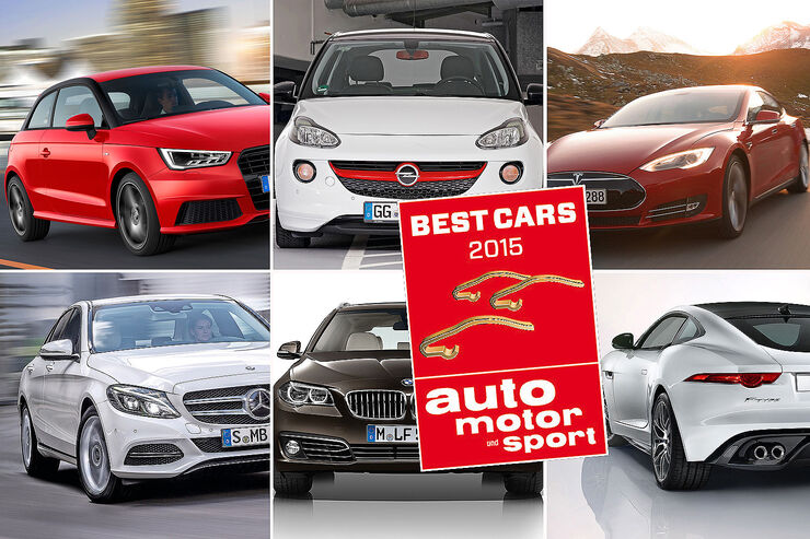 best cars 2015 das sind die sieger unserer leserwahl auto motor und sport. Black Bedroom Furniture Sets. Home Design Ideas