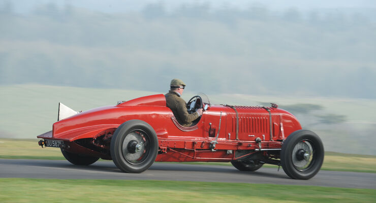 Birkin-Bentley Single-Seater, Seitenansicht