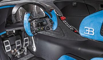 Bugatti Vision Gran Turismo, Interieur