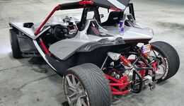 Bullet and Speed Design Polaris Slingshot