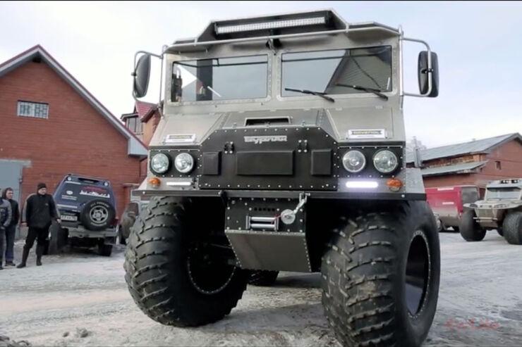 Burlak 6x6 Amphibienfahrzeug