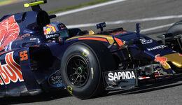 Carlos Sainz - Pireli-Prototyp - GP Belgien 2016