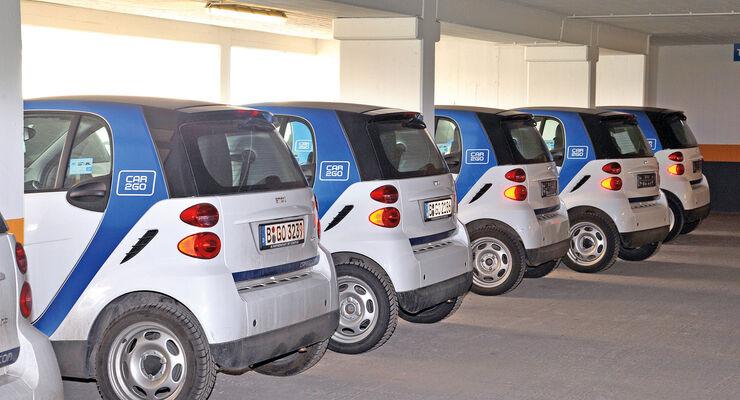 Carsharing, Car2go, Fuhrpark