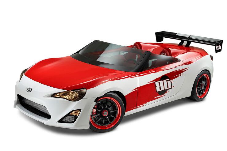 Cartel Speedster Scion FR-S Concept Toyota FT 86 Cabrio