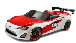 Cartel Speedster Scion FR-S Concept Toyota FT 86 Cabrio