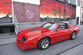 Chevrolet Camaro, Seitenansicht