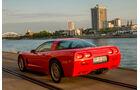 Chevrolet Corvette C5, Heckansicht