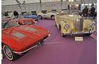 Chevrolet Corvette und Mercedes-Benz 300 SC, Autos der Coys-Auktion auf dem AvD Oldtimer Grand-Prix 2010
