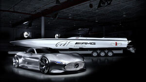 Cigarette Racing 50' Vision GT Concept Mercedes AMG
