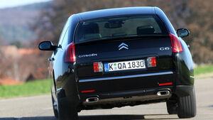 Citroën C6 HD i 170 Biturbo, Heckansicht