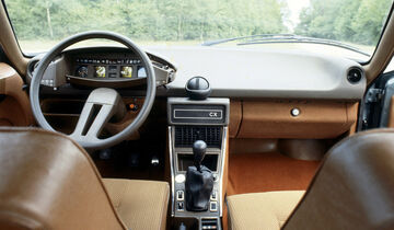 Citroen CX, Interieur