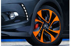 Citroen DS3 Racing, Vorderrad, Detail