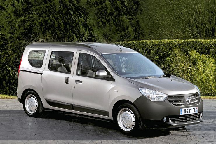 Dacia Dokker, Seitenansicht
