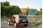 Dacia Duster Dauertest, Heck
