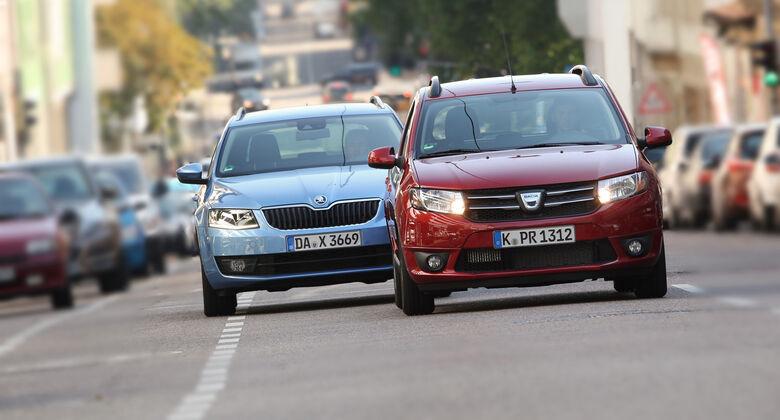 Dacia Logan, Skoda Octavia