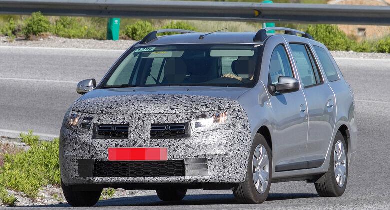 Dacia MCV Erlkönig