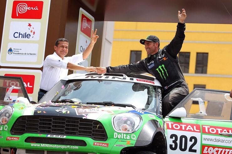 Dakar 2012 Stephane Peterhansel Mini